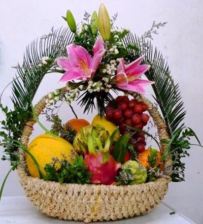 giỏ hoa quả 7